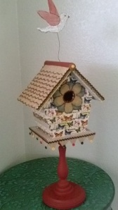 Creating your Own Mixed Media Birdhouse