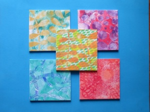 Samples for the Picture to Page Scrapbooking and Papercrafts show