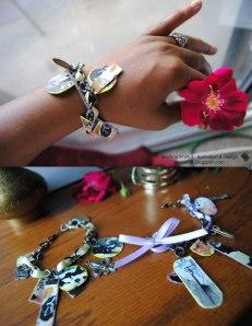 Graffiti Charm Bracelet