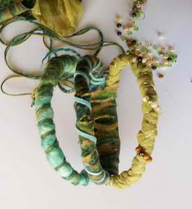 Wearable Art- Fabric and Fiber Jewelry