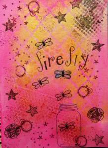 Art Journaling with Imagine Craft Irresistible Sprays & Stazon inkpads