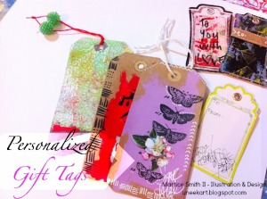 Personalized Gift Tags – On the Gelli Plate