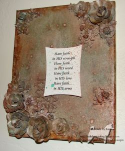 Mixed Media Canvas – Have Faith