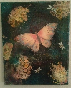 Mixed Media Canvas-Harmony