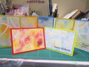 Handmade Greeting Cards with PanPastels